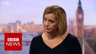 Does Amber Rudd stand by comments about Labour and terrorism? BBC News