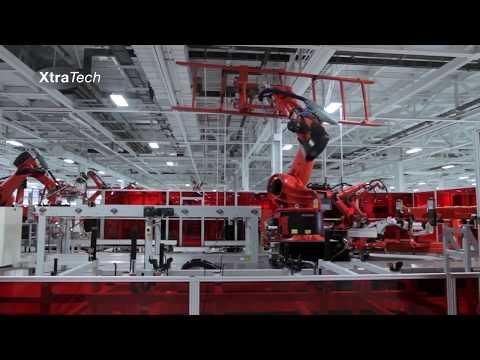 How Tesla GigaFactories works| California  Overview 2017