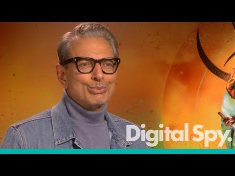 Who is Jeff Goldblum impersonating?