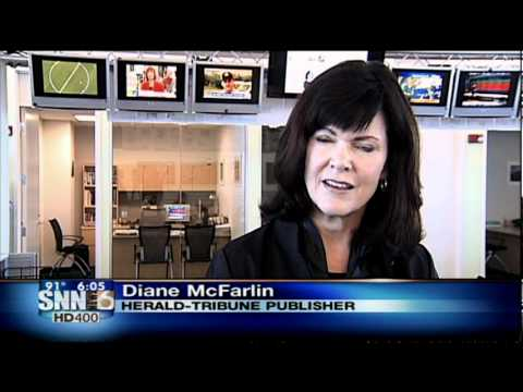 SNN6: DIANE MCFARLIN LEAVING THE HERALD TRIBUNE