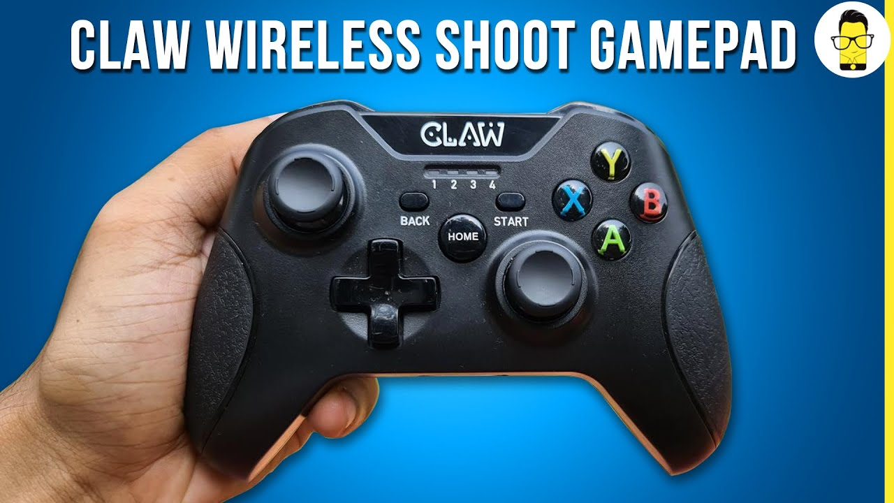 CLAW Shoot Wireless gamepad review: an Affordable and Reliable alternative for PC Gamers!