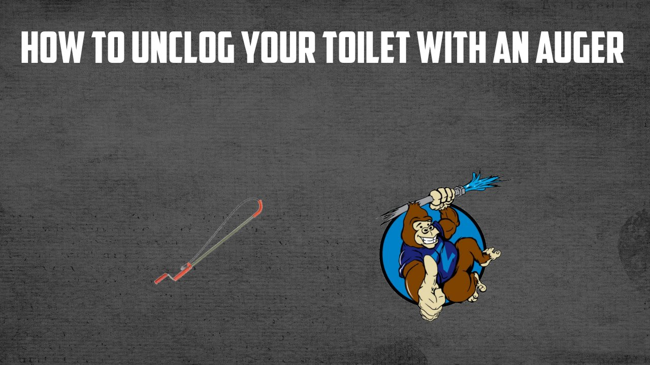 how to unclog your toilet with an auger youtube. Black Bedroom Furniture Sets. Home Design Ideas