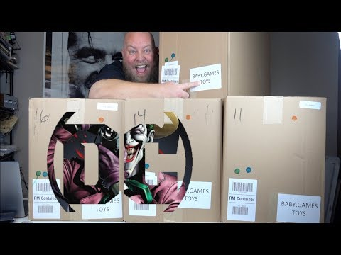 I bought a $1,519 Amazon Customer Returns TOYS & COLLECTIBLES Pallet / Mystery Boxes
