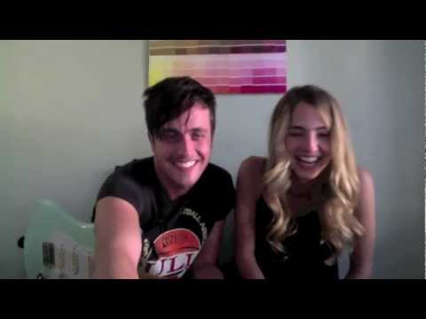 "Justin Bieber ""Die In Your Arms"" cover by Will Anderson and Katelyn Tarver"