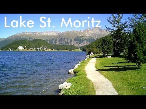 SWITZERLAND: Lake St. Moritz [HD]