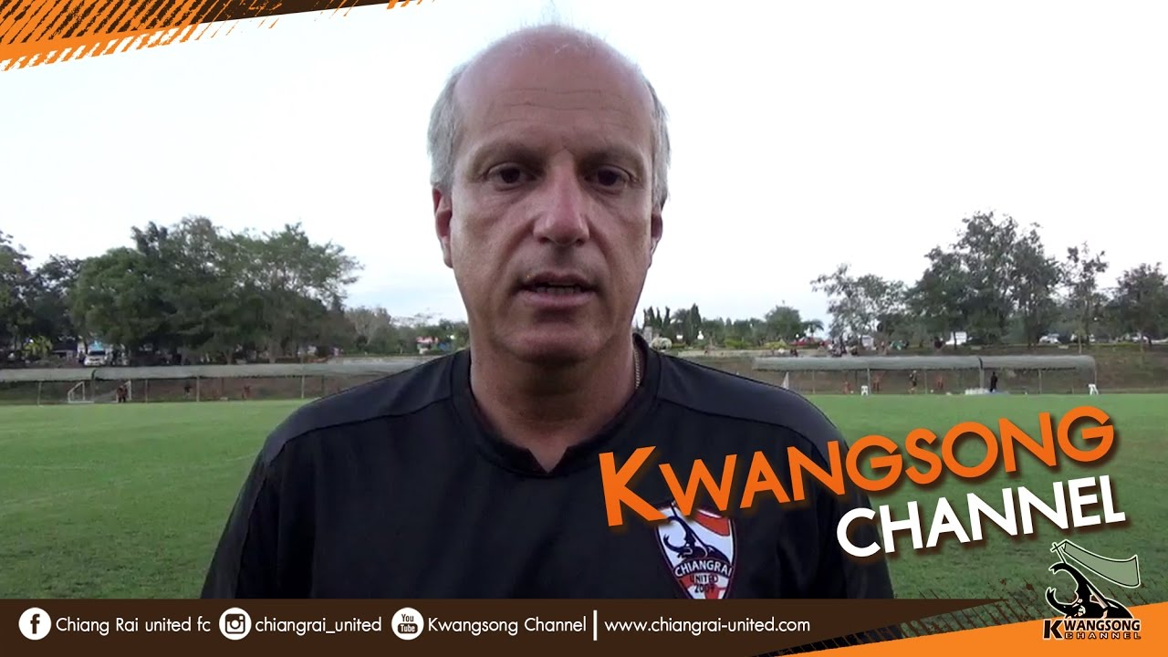 Download [Kwangsong Channel] พวกเรายังต้องทำงานให้หนักกว่าเดิม : Alexandre GAMA :: Phayao FC 1-3 CRUTD