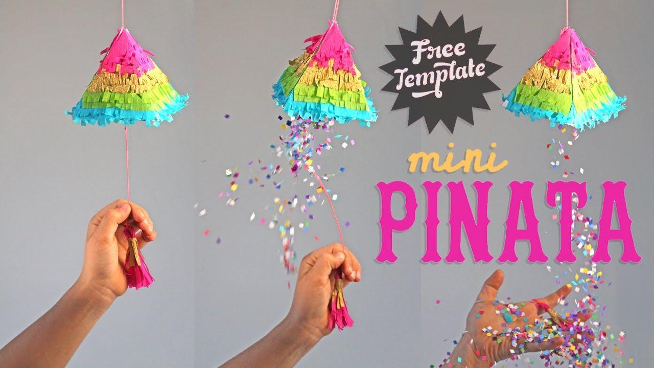How To Make A Piñata Cute Mini Rainbow Piñatas For Fiestas