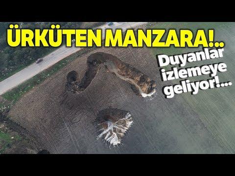 İzmir'de Ürküten Doğa Olayı! Sular Çekilmeye Devam Ediyor..