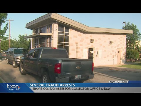 Several Travis County Tax Assessor Employees Accused Of Fraud