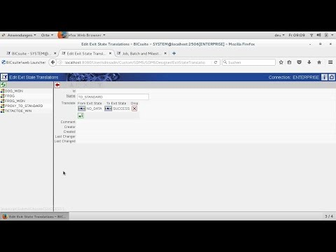 Tutorial 6: Exit State Translations und Workarounds