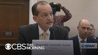 Jeffrey Epstein case: Why Alex Acosta is