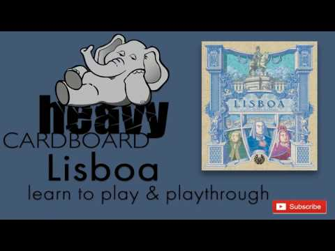 Lisboa 4p Play-through, Teaching, & Roundtable discussion by Heavy Cardboard