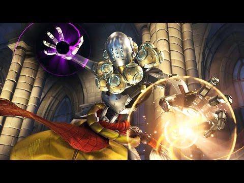 Overwatch: Zenyatta Gameplay - Multiplayer Online - Xbox One / Playstation 4