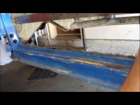 Vw Bug Sheet Metal Replacement Part 1 Youtube