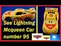 Disney Lightning Mcqueen Car Toy number 95 Jump the Moon