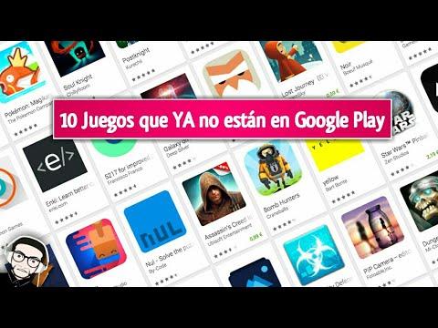 10 Excelentes Juegos Que No Estan En La Google Play Store Youtube