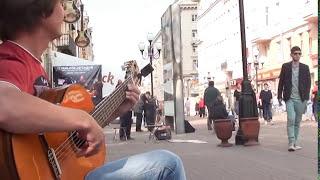 (Yiruma) - River Flows In You  на Гитаре - Арбат