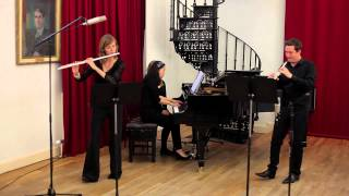 Trio, Madeleine Dring for Flute, Oboe and Piano