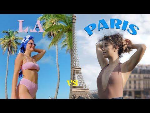 une journée à Los Angeles VS une journée à Paris