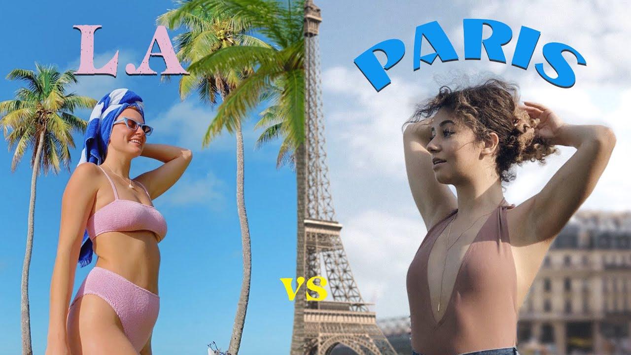 Download une journée à Los Angeles VS une journée à Paris