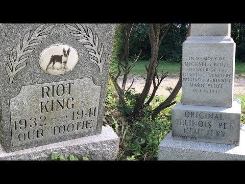 """The """"Original"""" Pet Cemetery in Illinois?"""