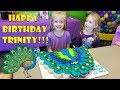 HAPPY BIRTHDAY Party!! Trinity Turns 5 Years Old! *Peacock Birthday Party*