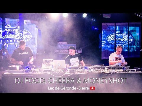 DJ Food, Cheeba & Moneyshot - live - Festival Week-end au bord de l'eau - Sierre (Switzerland)