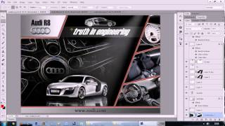 mqdefault Photoshop Cs6 Audi R8 Poster Tasarimi 5 Turkce