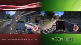 Wheelman (Xbox 360/PlayStation 3 Console Comparison)