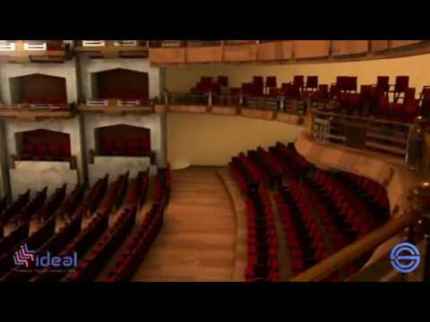 Butacas Ideal Proyecto Bellas Artes CDMX