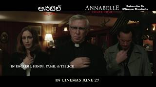 Annabelle Comes Home | Telugu Promo | In Cinemas June 27th