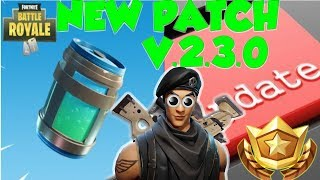 Fortnite Battle Royale *NEW PATCH* New LEGENDARY POTION?!?! (Get Chug jug or die trying)