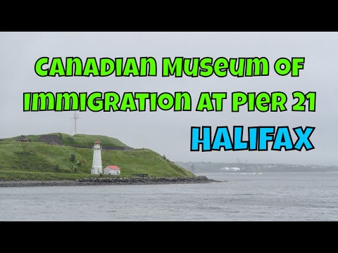 Things To Do in Halifax. Nova Scotia: Canadian Museum of Immigration at Pier 21 [Travelling Foodie]