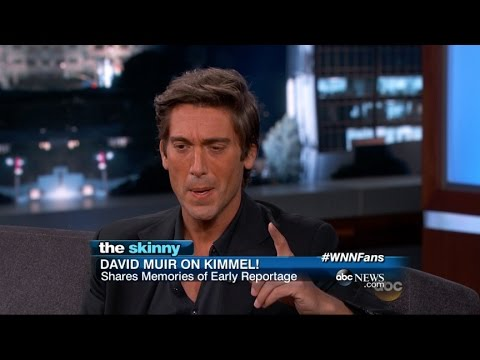 David Muir Makes Appearance On Jimmy Kimmel!