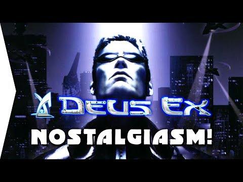 First time playing Deus Ex ► What an EPIC Game! - [Nostalgiasm]
