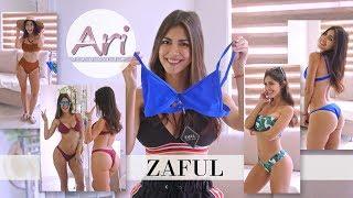 ZAFUL Bikini Try On Haul - Cuatro hermosos bikinis de ZAFUL