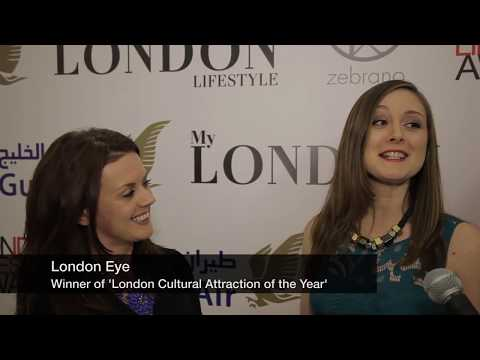 London Lifestyle Awards® 2013 - London Cultural Attraction of the Year to London Eye
