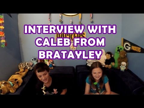 Interview with Caleb From Bratayley (BlazeNoutlaws) - By Bethany G