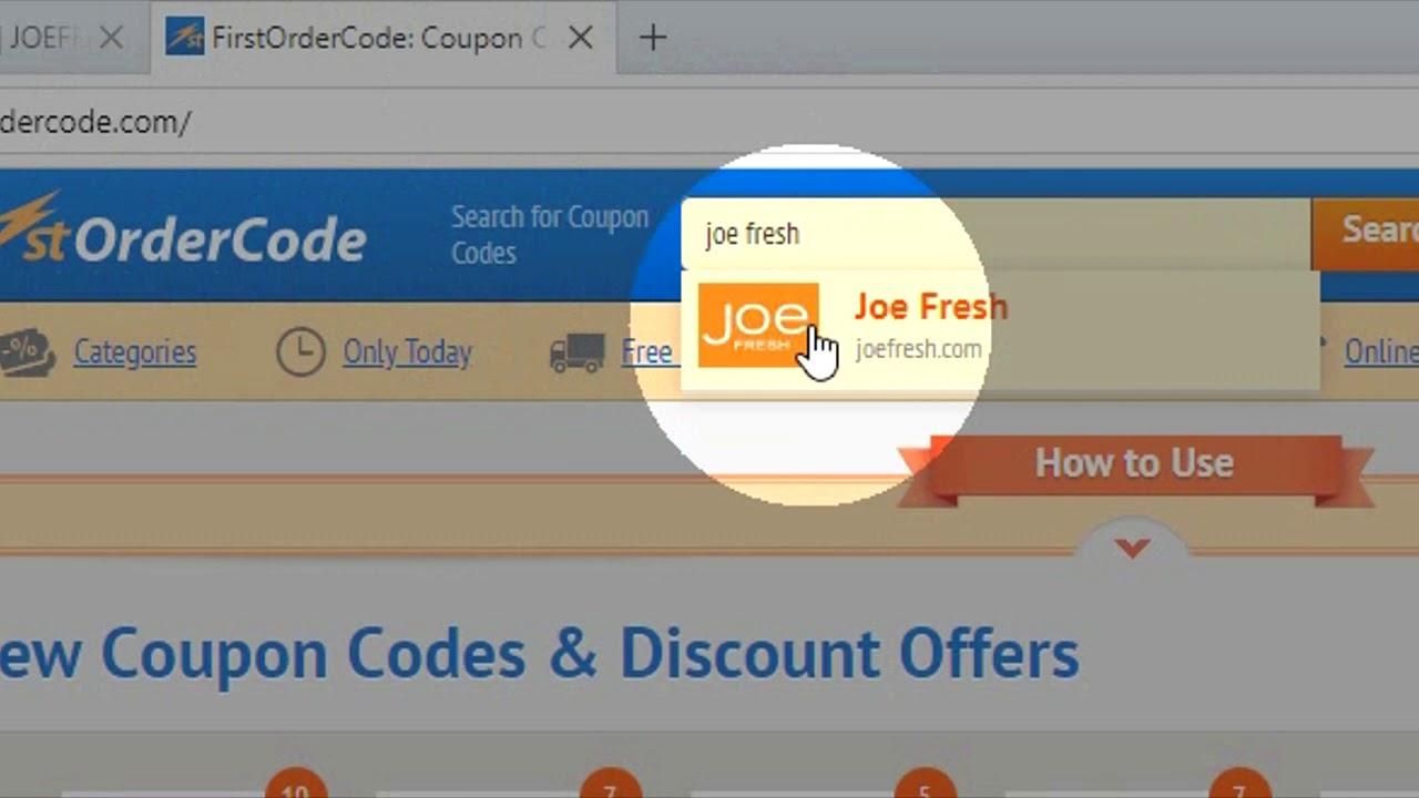 Joe Fresh Promo Code June 2021 Up To 10 Off Firstordercode