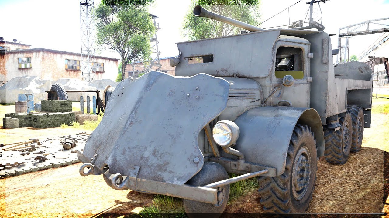 WAR RIG   Swedish Mad Max Truck (War Thunder LVTDGB m/40)