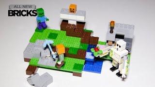 Lego Minecraft 21123 The Iron Golem Speed Build