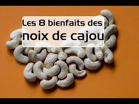 les 8 bienfaits des noix de cajou youtube. Black Bedroom Furniture Sets. Home Design Ideas