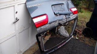 How to install a Liftgate back Door Toyota Sienna(removal/install)