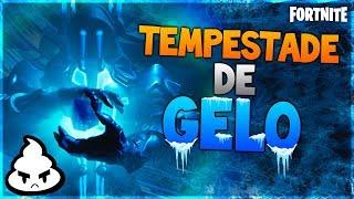 FORTNITE TEMPESTADE DE GELO! Evento Inédito MELHOR VISÃO! Fortnite Battle Royale