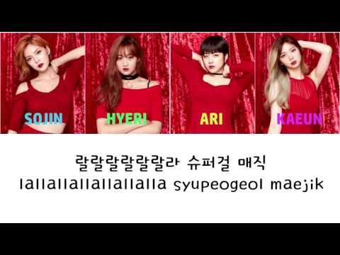 Red Queen - Super Girl Magic Lyrics