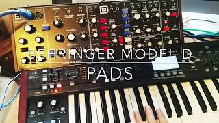 Behringer Model D - Pads? Why not!