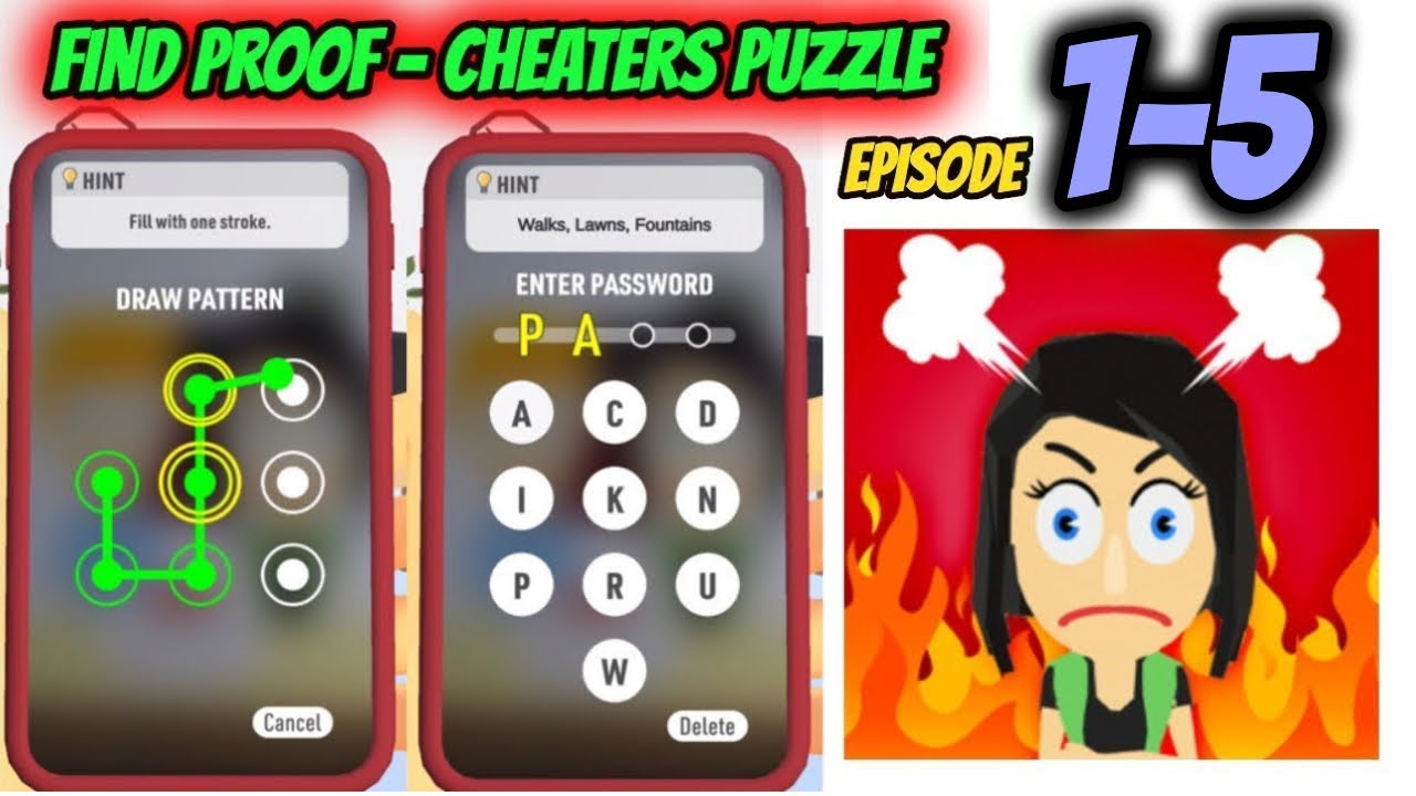 Download How to Solve Find Proof - Cheaters puzzle Game Episode From 1 - 5    By FTY   game of puzzle