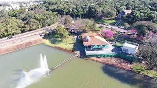 Lago Municipal de Cascavel - Drone