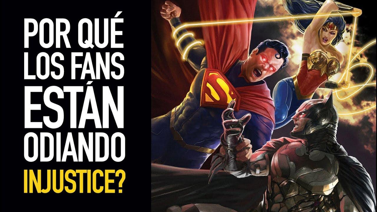 ¿Por qué los fans está odiando Injustice?