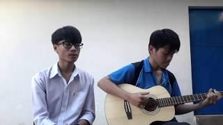 Sống Xa Anh Chẳng Dễ Dàng - Acoustic Cover - Anh Trí ft Hữu Bảo